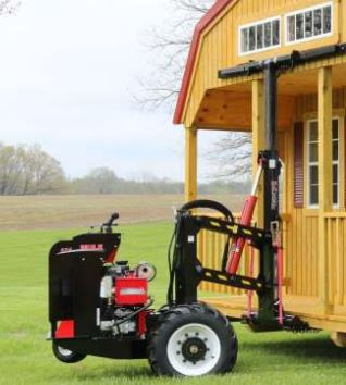 Mule 524 Shed Mover Includes 1 Set Dolly Wheels Shed