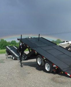 Myers Trailers Single Frame gooseneck trailer